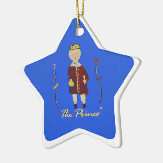 Prince Brock Star Ornament