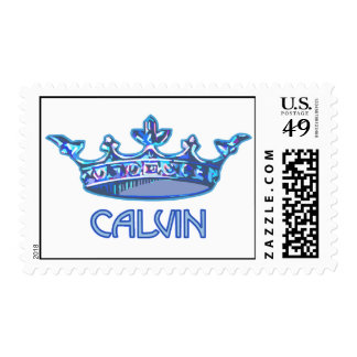 Prince Calvin Postage Stamps