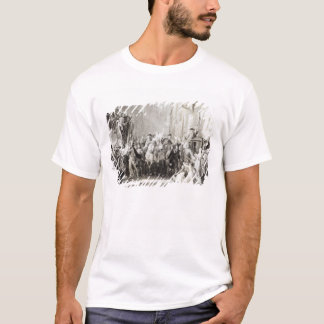 Prince Charles Edward  and the Highlanders T-Shirt