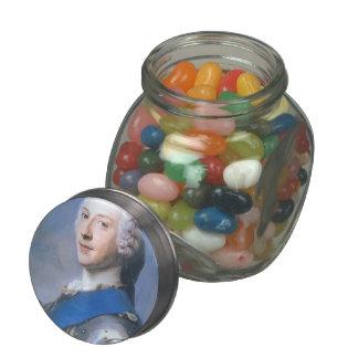 Prince Charles Edward Stewart by Maurice La Tour Glass Jar