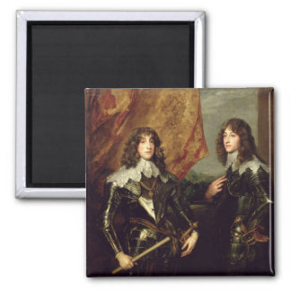 Prince Charles Louis  Elector Palatine 2 Inch Square Magnet