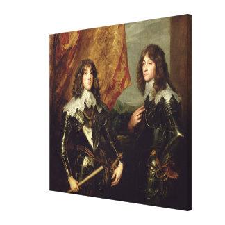 Prince Charles Louis  Elector Palatine Canvas Print