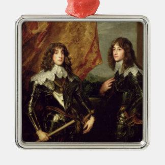 Prince Charles Louis  Elector Palatine Metal Ornament