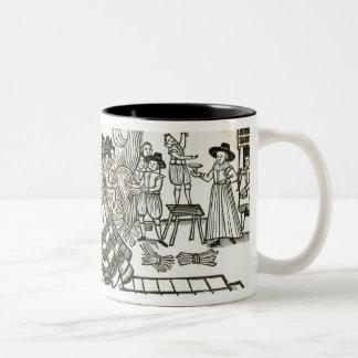 Prince Charles's Welcome Home from Spain, 1623 Two-Tone Coffee Mug