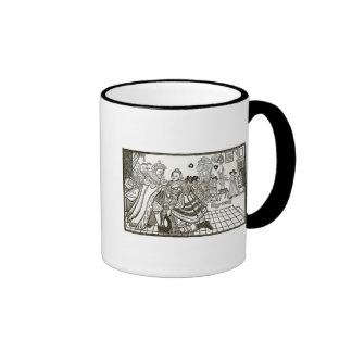 Prince Charles's Welcome Home from Spain, 1623 Ringer Coffee Mug