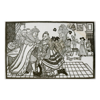 Prince Charles's Welcome Home from Spain, 1623 Poster