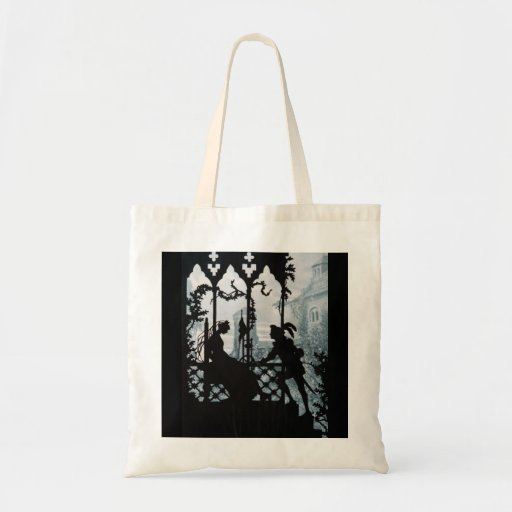 Prince Charming and Princess Budget Tote Bag