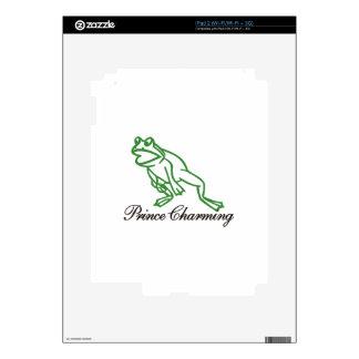 Prince Charming iPad 2 Decal