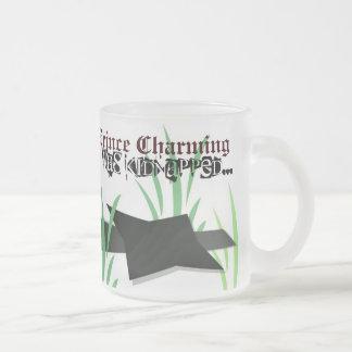 Prince Charming Mug:Kidnapped Frosted Glass Coffee Mug