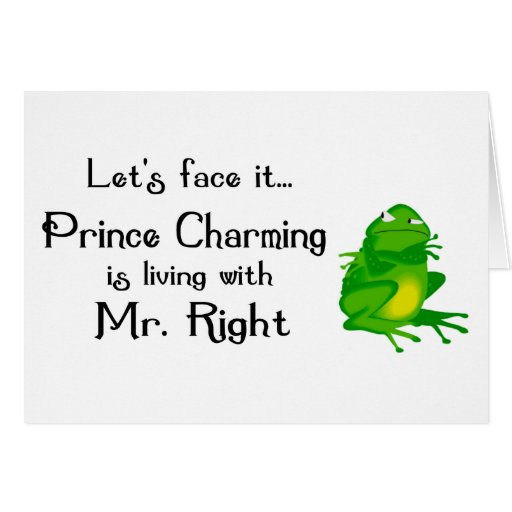 Prince Charming notecards Cards
