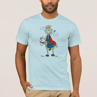 Prince Charming on Horse T-Shirt