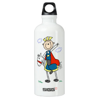 Prince Charming on Horse Water Bottle