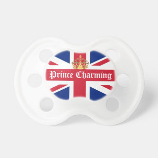 Prince charming royal baby pacifier