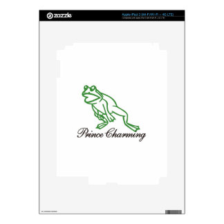 Prince Charming Skin For iPad 3