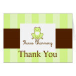 Prince Charming Thank You Cards
