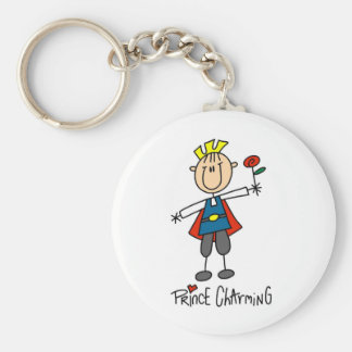 Prince Charming Tshirts and Gifts Keychain