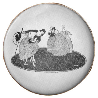 Prince Charming & Vintage Cinderella Cookies Chocolate Dipped Oreo