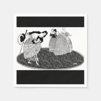 Prince Charming Vintage Cinderella Paper Napkins