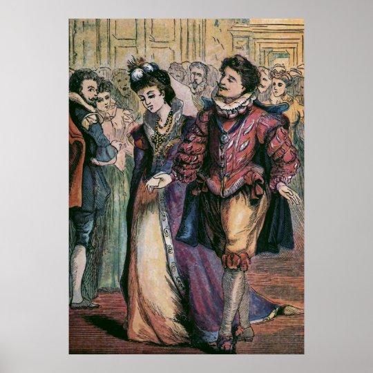 """""""Prince Charming"""" Vintage Illustration Poster"""