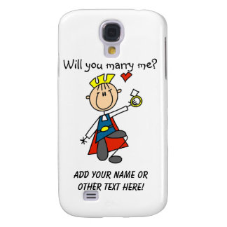 Prince Charming Will You Marry Me Samsung Galaxy S4 Cases