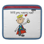 Prince Charming Will You Marry Me iPad Sleeve