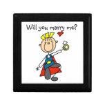 Prince Charming Will You Marry Me Trinket Box
