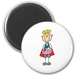 Prince Charming With Glass Slipper Magnet