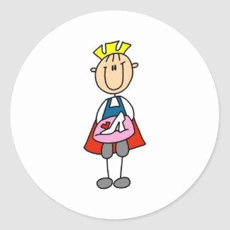 Prince Charming With Glass Slipper Sticker