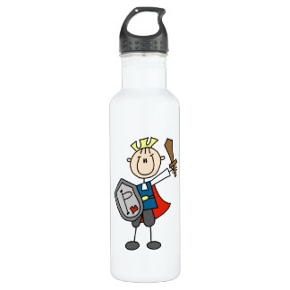 Prince Charming With Sword Stainless Steel Water Bottle