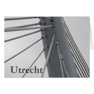 Prince Claus Bridge, Utrecht Card