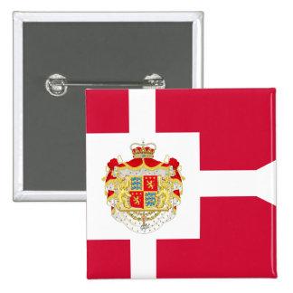 Prince Consort Henrik Of Denmark, Greenland flag Button