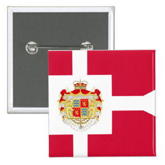 Prince Consort Henrik Of Denmark, Greenland flag Pinback Buttons