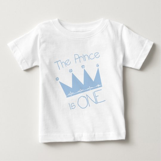 Prince Crown 1st Birthday Tshirts and gifts