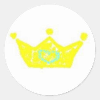 Prince crown sticker