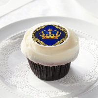Prince Cupcake Toppers Edible Frosting Rounds