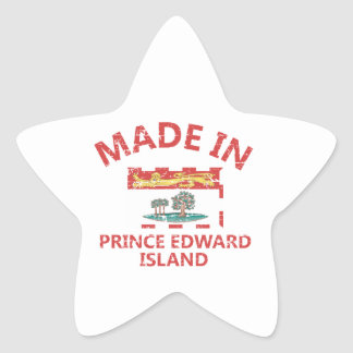 Prince Edward Coat of arms Star Sticker