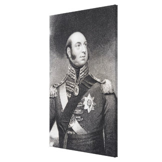 Prince Edward, Duke of Kent and Strathearn Canvas Print