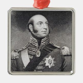 Prince Edward, Duke of Kent and Strathearn Metal Ornament