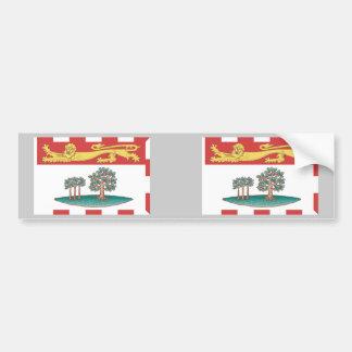 Prince Edward Island Flag Bumper Sticker