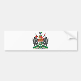 Prince Edward Islands (Canada) Coat of Arms Bumper Sticker