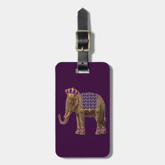Prince Elbert of Elephantia Luggage Tag