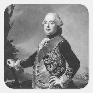 Prince Elector Frederic II of Hessen-Kassel Square Sticker