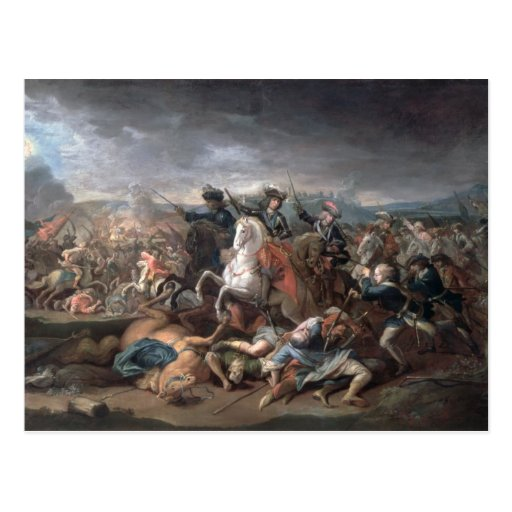 Prince Eugene of Savoy  at the Siege of Post Cards