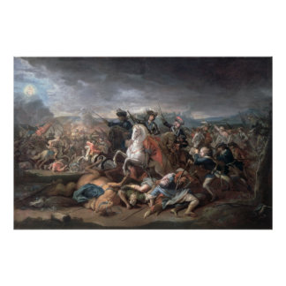 Prince Eugene of Savoy  at the Siege of Poster