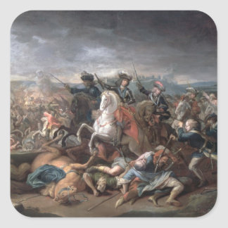 Prince Eugene of Savoy  at the Siege of Square Sticker
