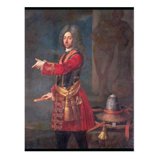 Prince Eugene of Savoy Post Card