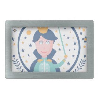 Prince Fairy Tale Character Belt Buckle