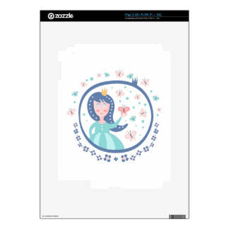 Prince Fairy Tale Character Decals For The iPad 2