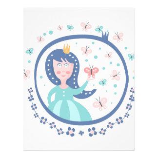 Prince Fairy Tale Character Letterhead
