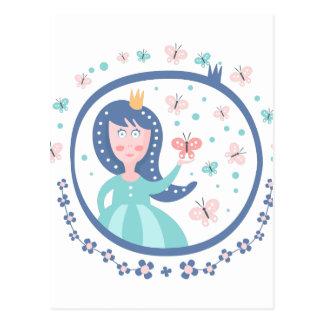 Prince Fairy Tale Character Postcard